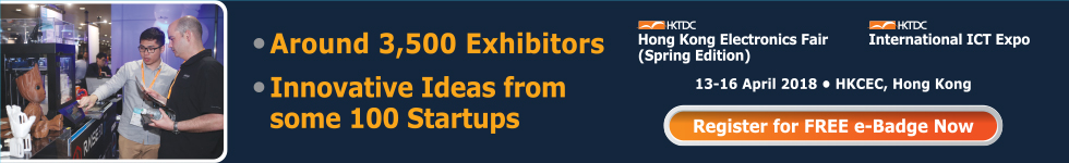 Startup Zone at HKTDC Electronics Fair (Spring Edition) and International ICT Expo