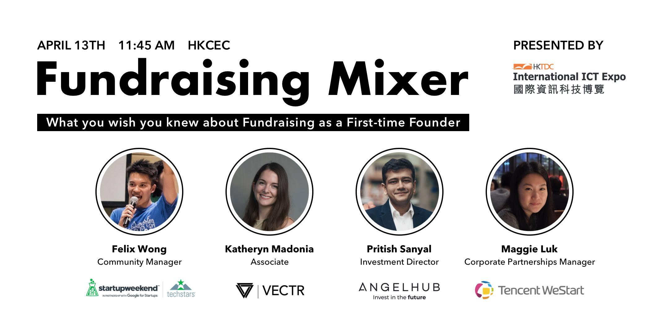 Fundraising mixer HKTDC