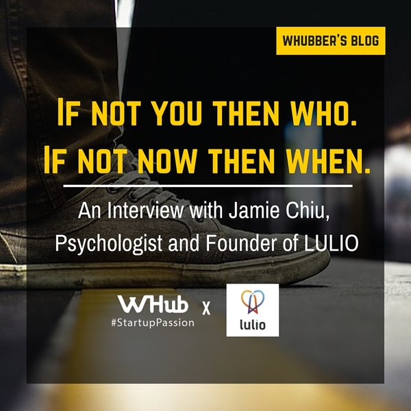 Meet Jamie Chiu, psychologist and founder, LULIO