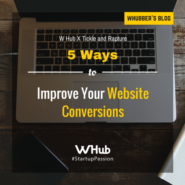 5 Ways to Improve Your Website Conversions