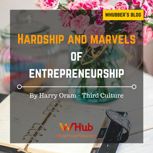 Hardship and Marvels of Entrepreneurship