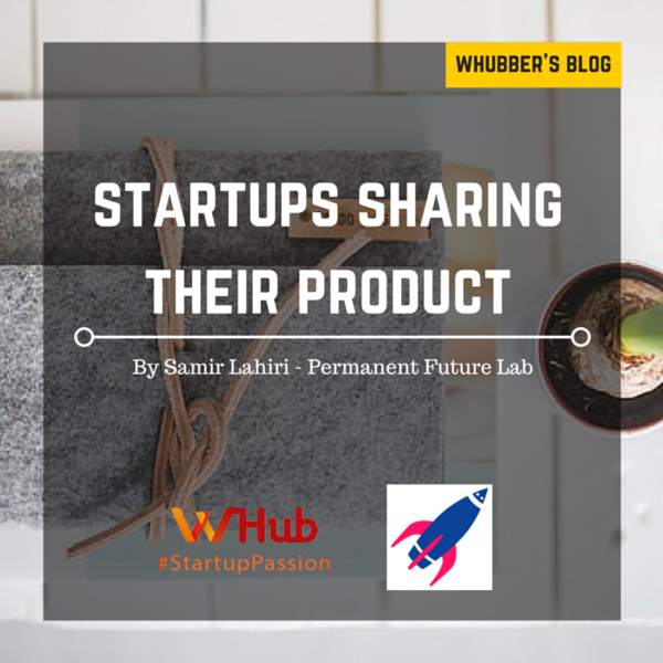 Startups sharing their product