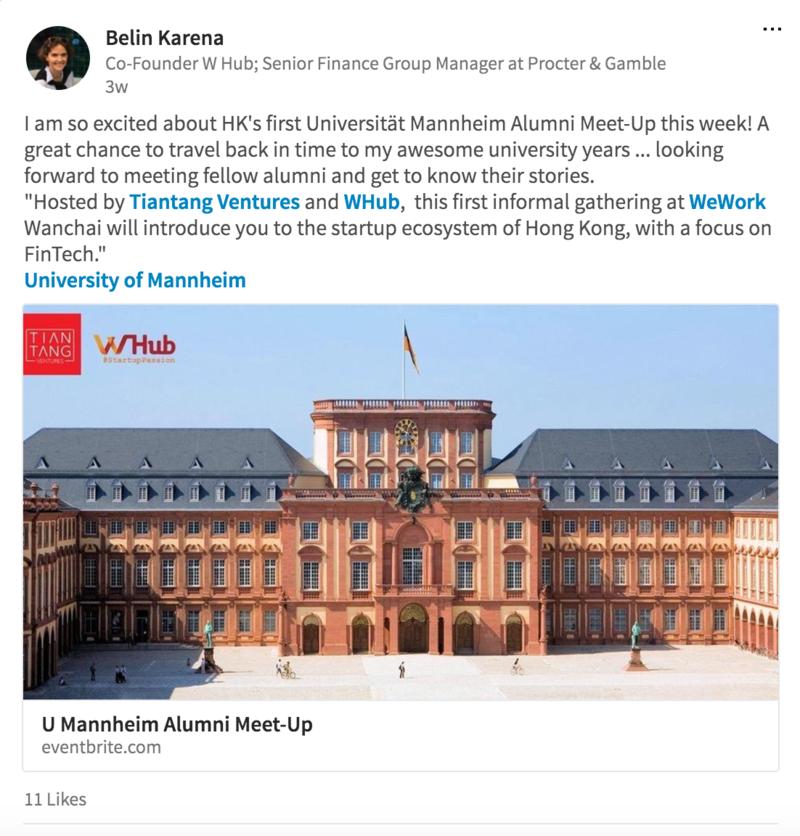 First University of Mannheim Alumni Meetup