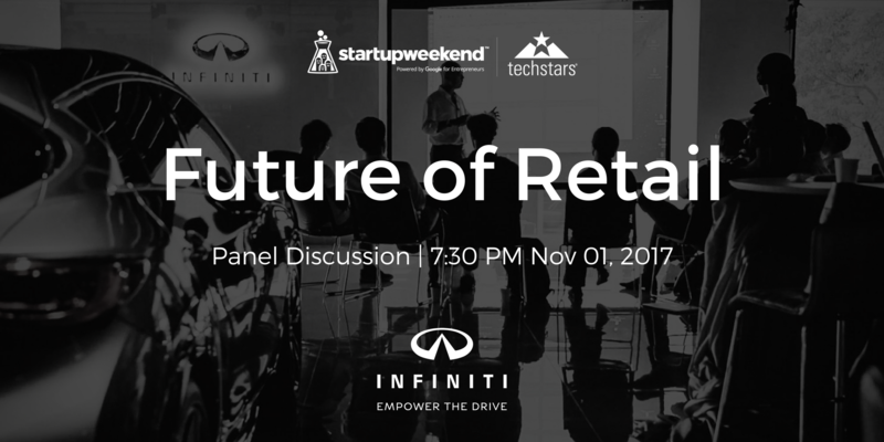 Startup weekend future of retail panel discussion