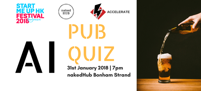Accelerate pub quiz event