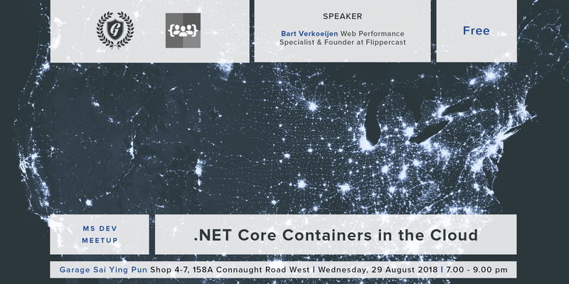 Net core containers in the cloud