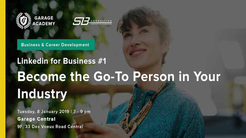 Become the go to person in your industry