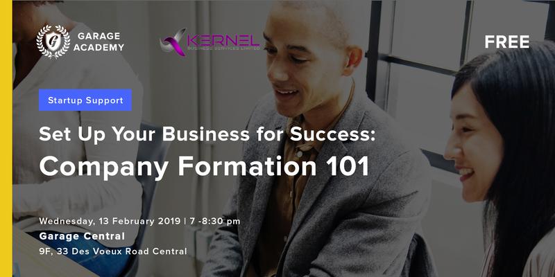 Company formation 101