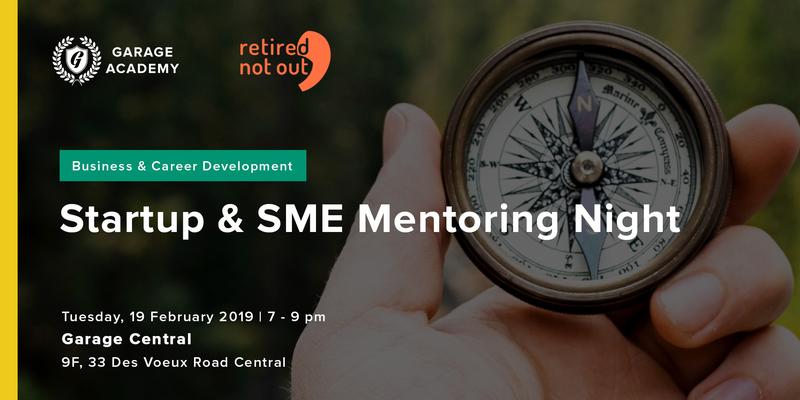 Startup   sme mentoring night