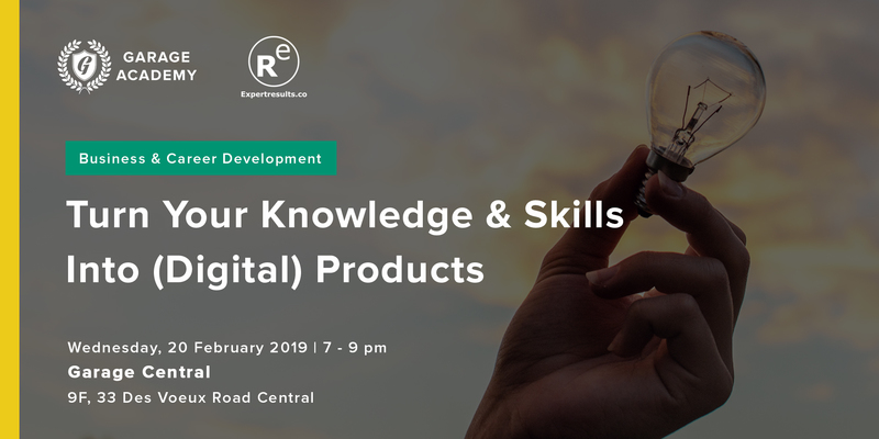 Turn your knolwedge   skills into digital products