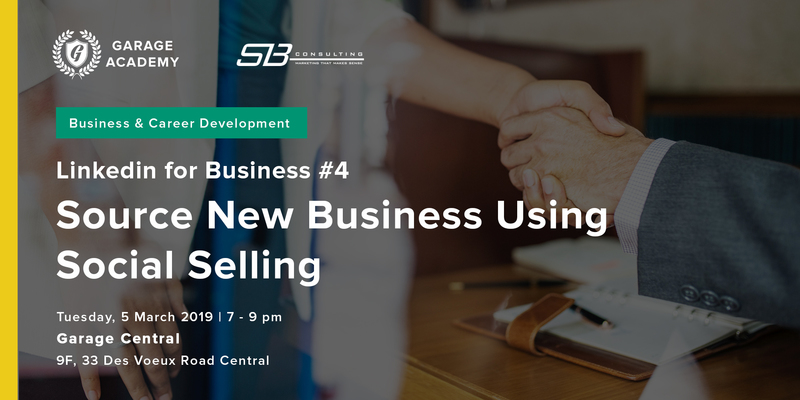 Source new business using social selling