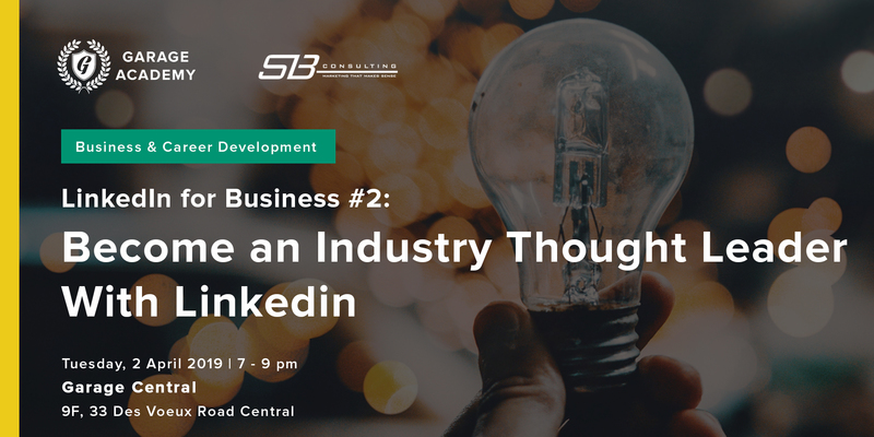 Become an industry thought leader using linkedin 3