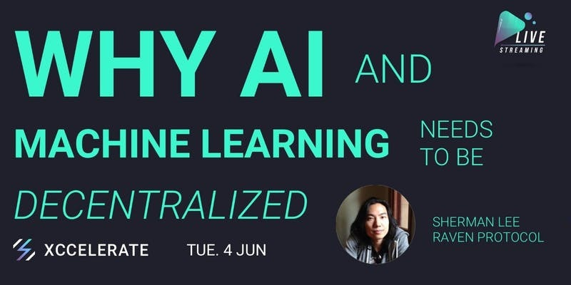 Why ai ml need to be decentralized