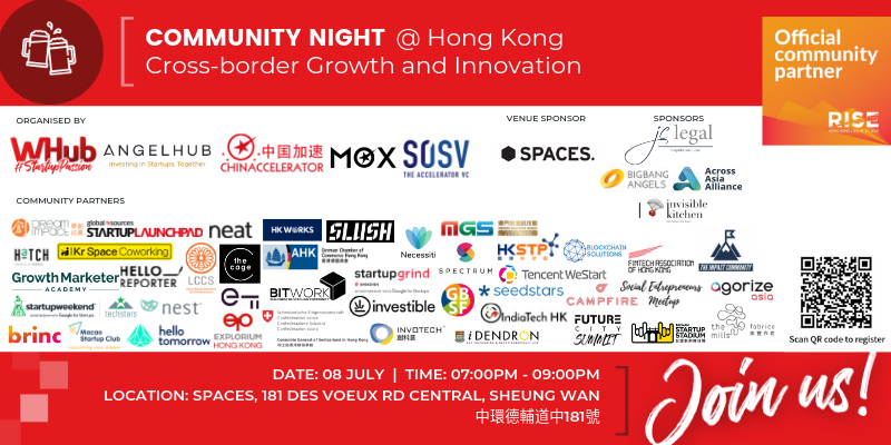 RISE Community Night - Cross-border Growth and Innovation