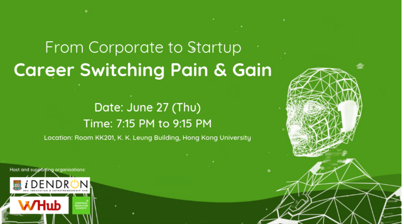 From corporate to startup  career switching pain   gain
