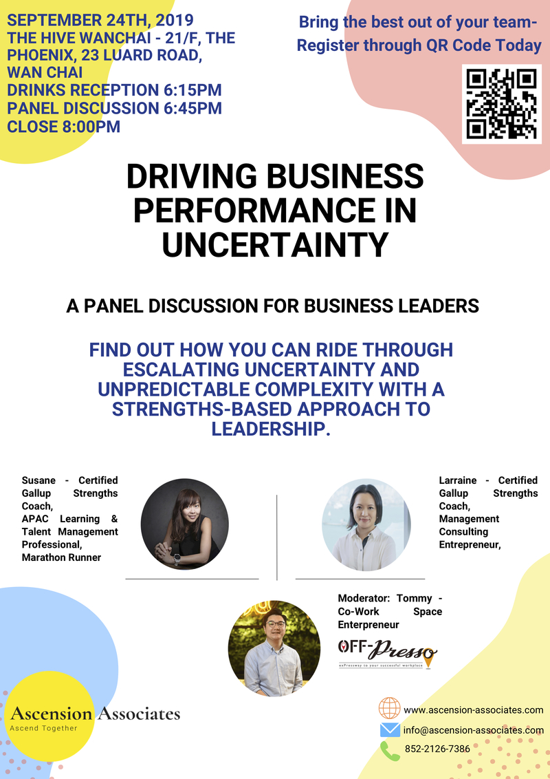 Driving business in uncertainty