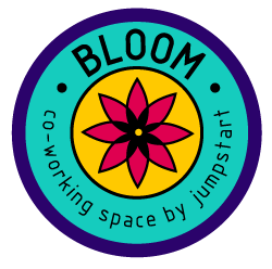 Bloom logo color 250