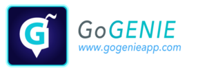 Large gogenie logo signature