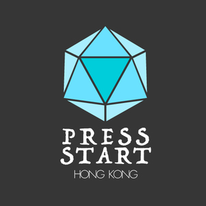 Large press start hong kong logo
