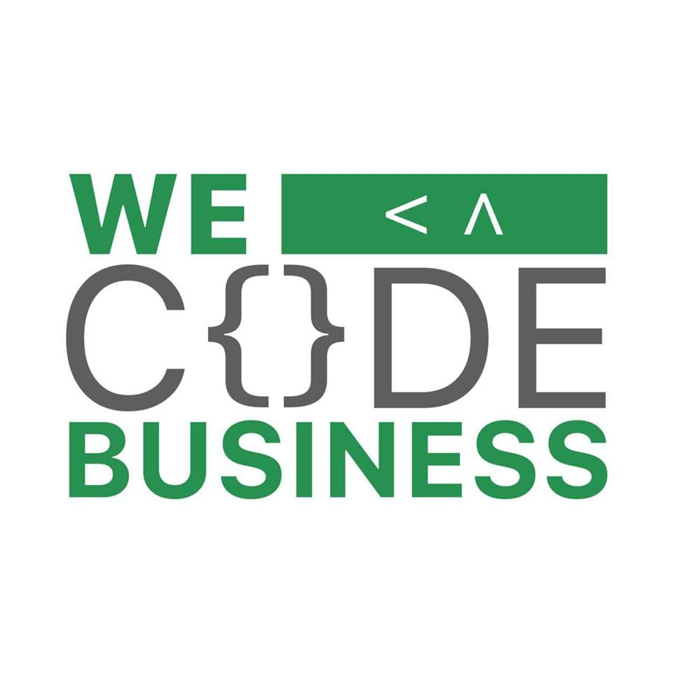 #Wecodebusiness