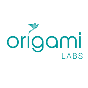 Large square origamil labs logo
