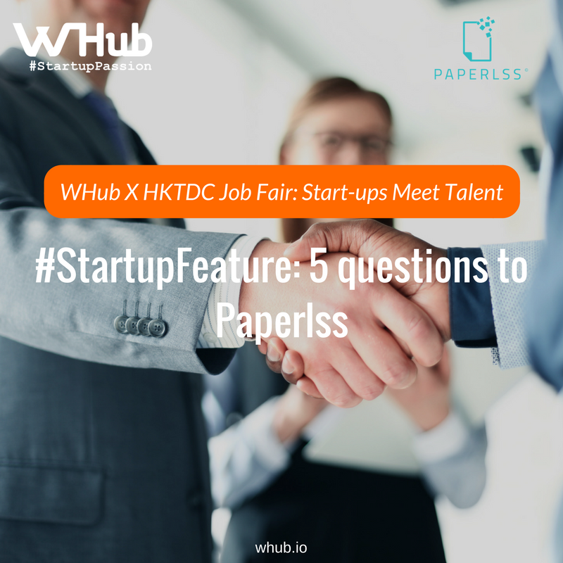 Whub x hktdc job fair  start ups meet talent  2