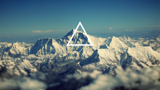 Hipster triangle wallpaper hd