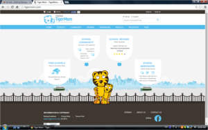 Tigermomlandingpage