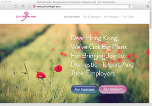 Joyfulhelper landing page copy