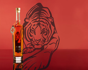 Motiv flasche tiger infusion 022