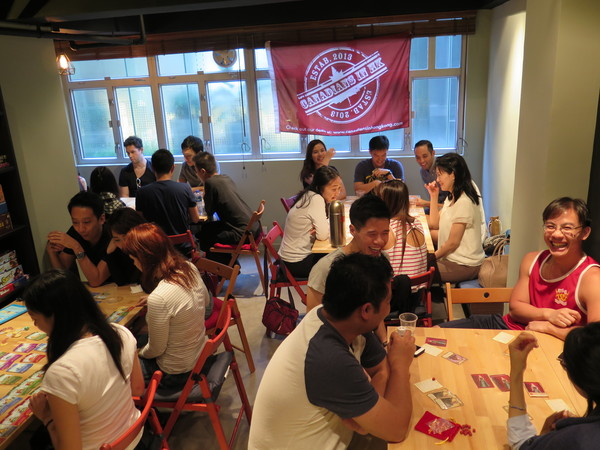 Canadians in hong kong private board game social