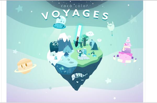 Voyages landing page