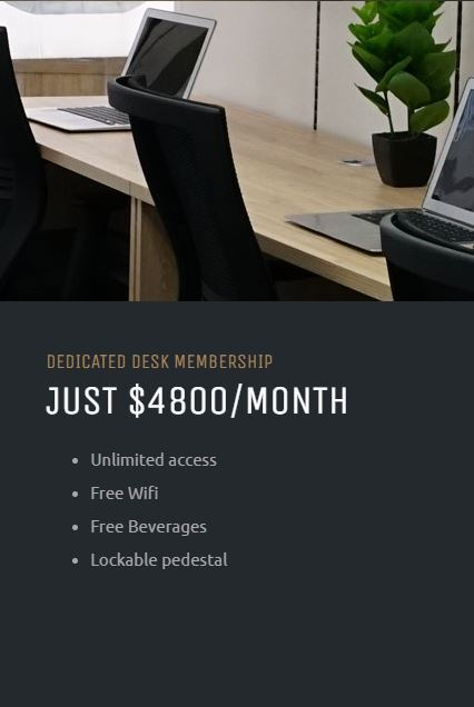Bloom dedicateddesk membership