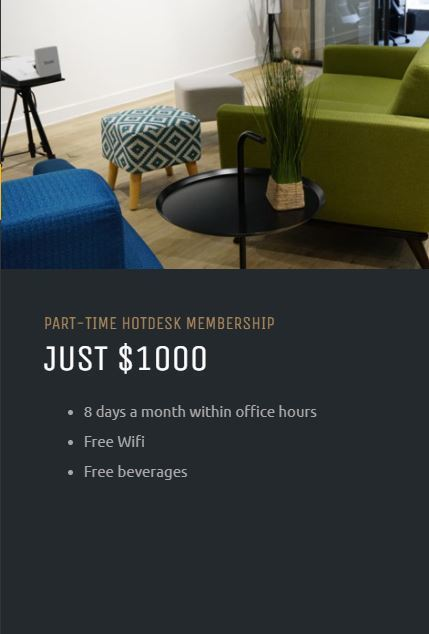Bloom parttime hotdesk membership