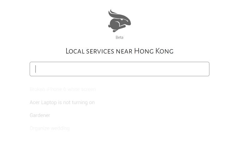 Bunny hong kong