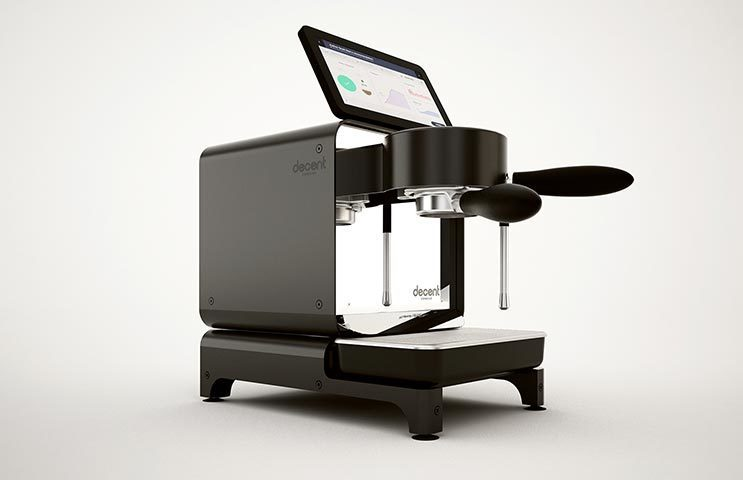 Decent espresso machine catalog 1s
