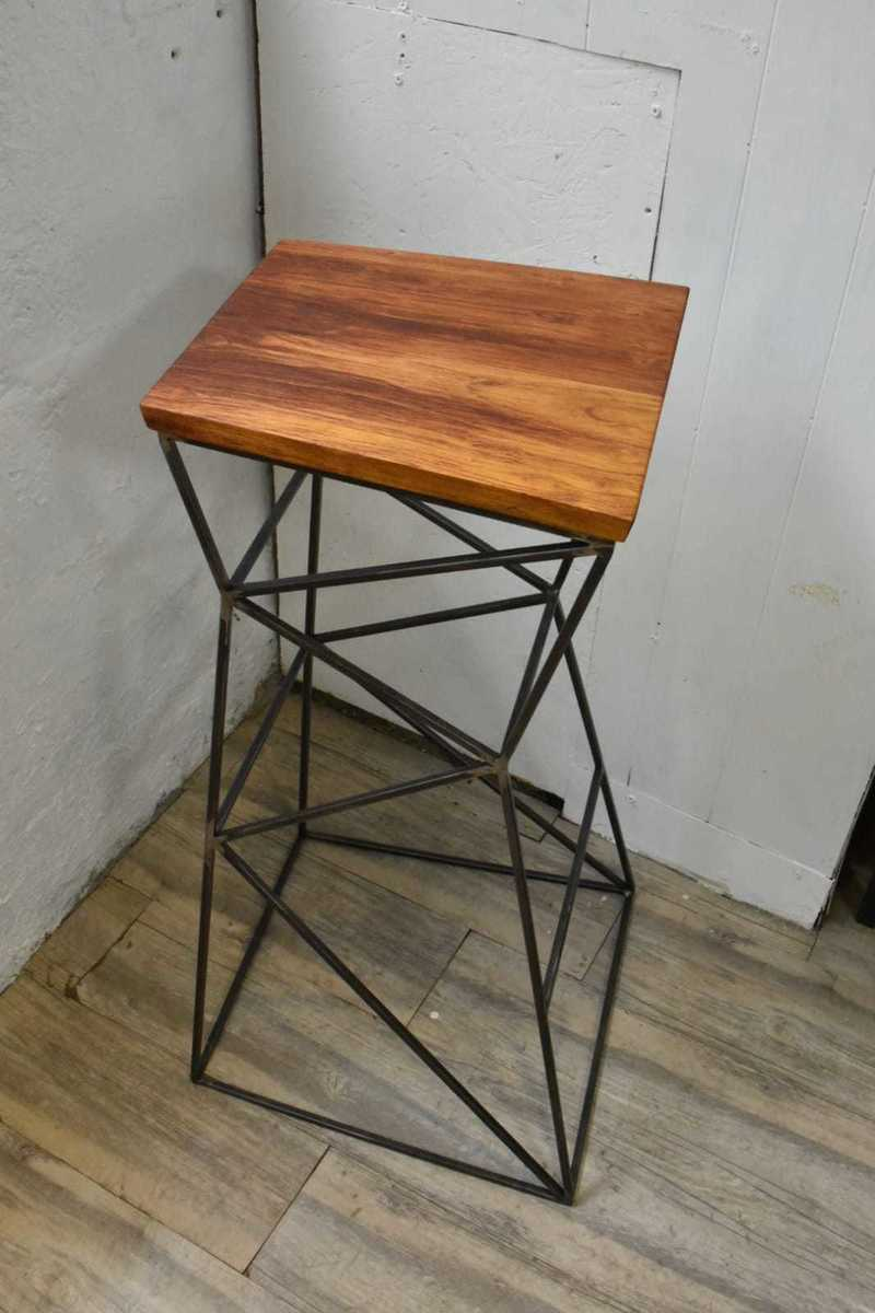 Jatoba radio stool 2